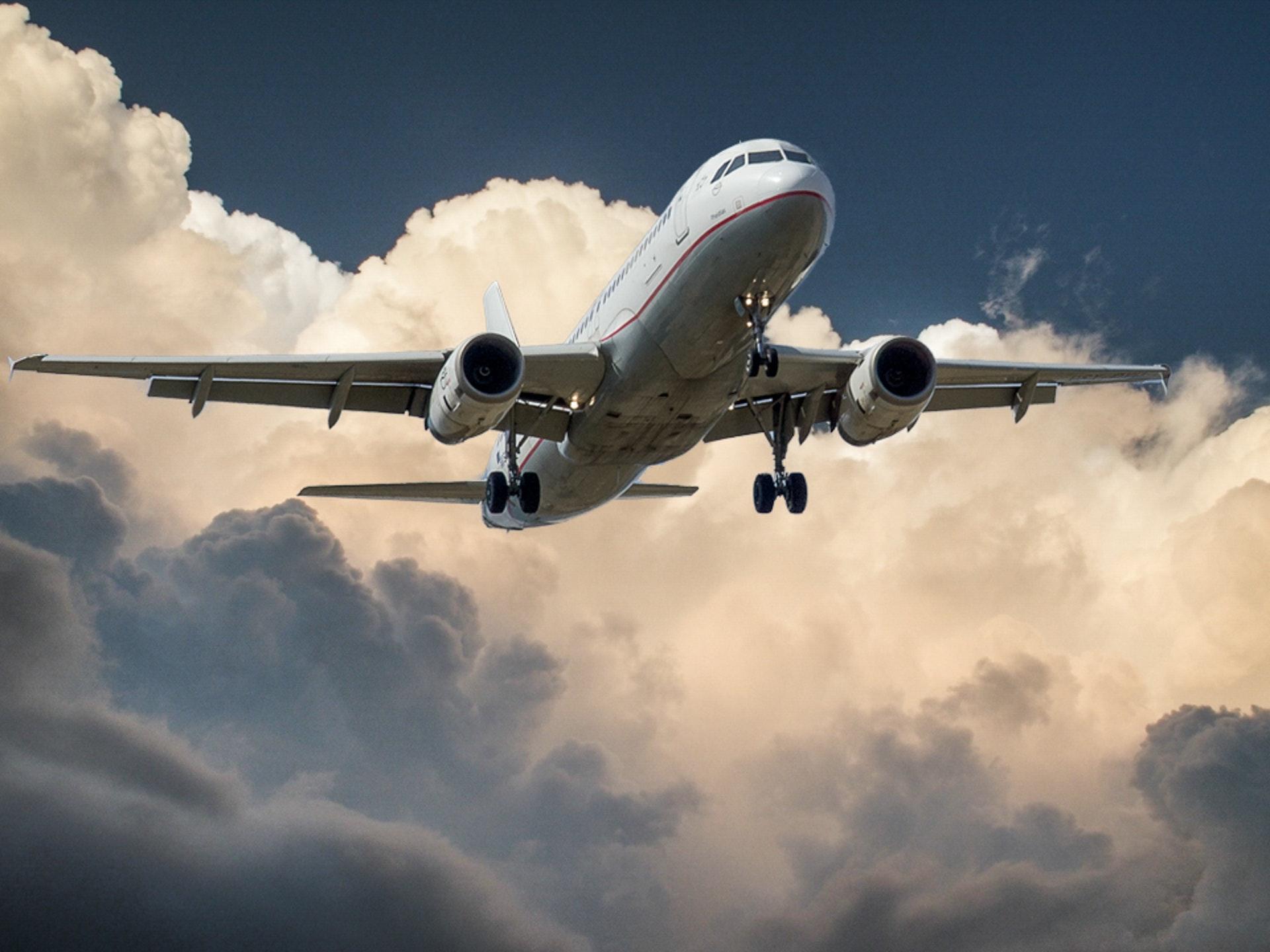 Flugreise mit Kindern
