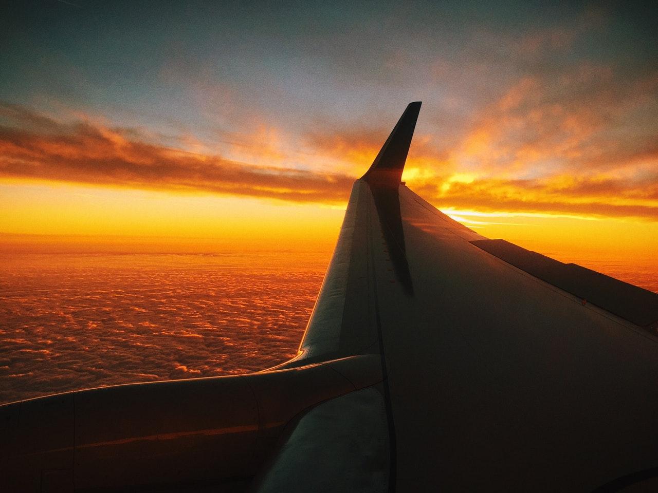 Wie kann man Angst von der Flugreise handeln?